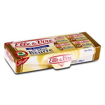 ELLE&VIRE Mini beurre doux 200g