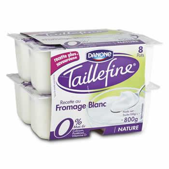 TAILLEFINE Fromage blanc  0% de M.G.