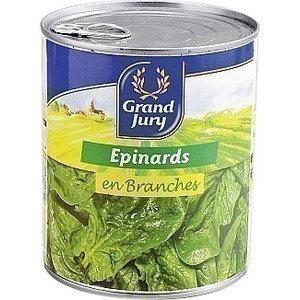 Epinards en Branches CHAVILLE - la boîte 4/4
