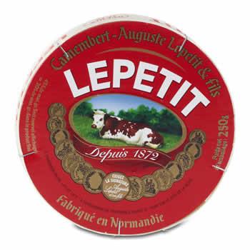 Camembert le LEPETIT 45% M.G. 250 g