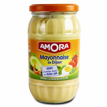AMO Mayonnaise de Dijon Sans conservateur 235 g