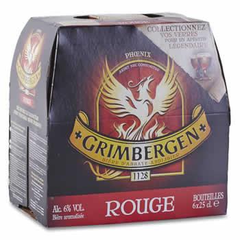 GRIMBERGEN Bière aromatisée aux Fruits rouges