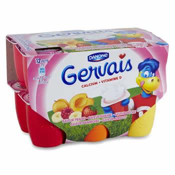 GERVAIS Petits Suisses aromatisés