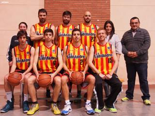 Sènior Masculí: Crònica U.E. Sant Andreu VS Escolapis Sarrià