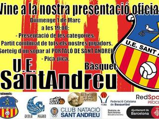 Presentació oficial de la U.E. Sant Andreu Bàsquet
