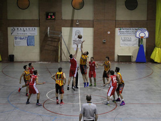 Sènior Masculí: U.E. Sant Andreu - C.B. Ramon Llull