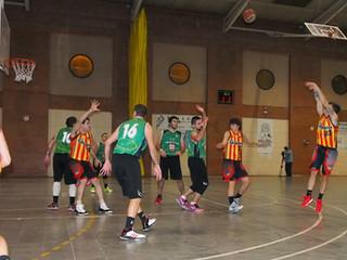 Sènior Masculí: C.B. Ripollet B - U.E. Sant Andreu