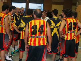 Sènior Masculí: Crònica Bàsquet Can Parellada - U.E. Sant Andreu A