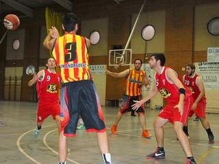 Sènior Masculí: Crònica U.E. Sant Andreu A - C.B. Matadepera
