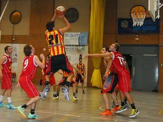 Sènior Masculí: Crònica U.E. Sant Andreu A - C.B. Sant Pere · Leo Boeck