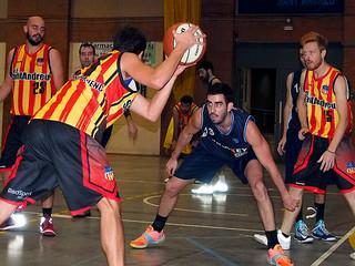 El Sant Andreu de bàsquet planta cara al líder