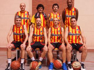 Veterans: El Sant Andreu veterans  creix com a equip contra els Boscons Cèltics