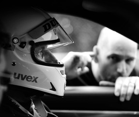 Rennfahrer Coaching