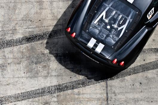 Ferrari von oben