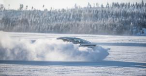 Driften im Schnee