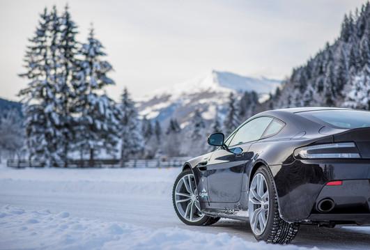Aston Martin Wintertraining