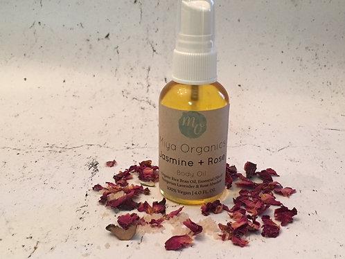 Jasmine + Rose Body Oil