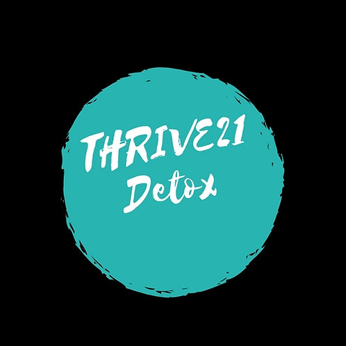THRIVE21 Spring Detox Program
