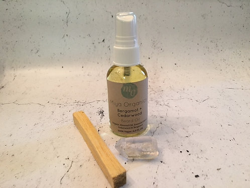 Bergamot + Cedarwood Beard Oil