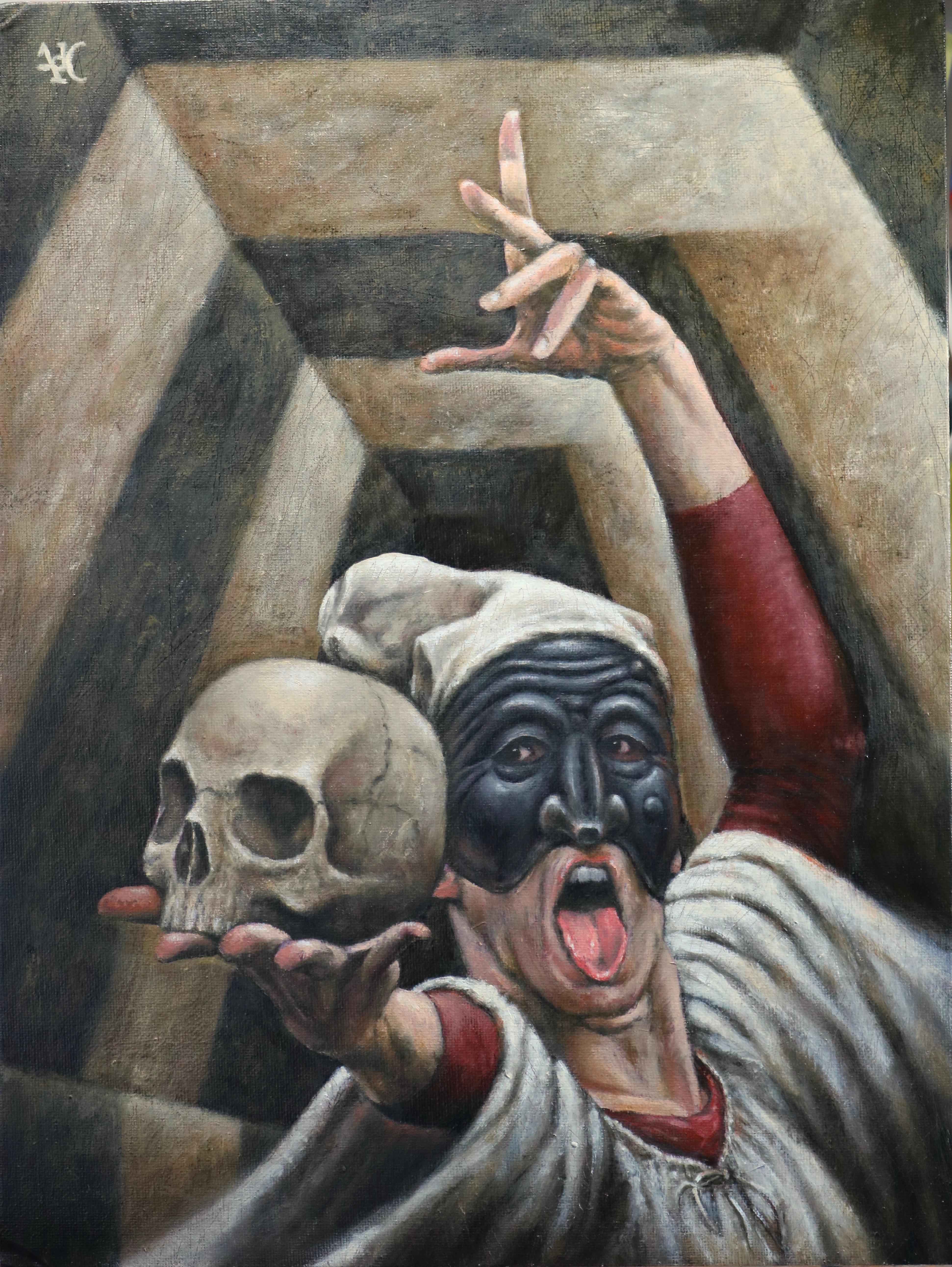 Pulcinella psicopompo