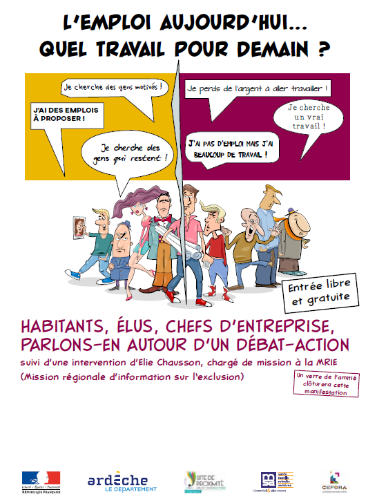 Flyer | Forum emploi | DTAS C