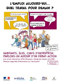 Flyer | Forum emploi | DTAS C