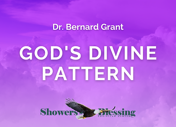 God's Divine Pattern | CD