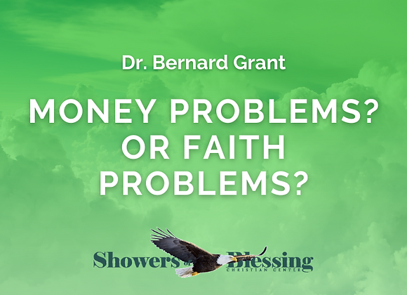 Money Problems or Faith Problems? | CD