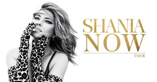 Two tickets to the Shania Twain concert on Thursday, May 10 at Rogers Place