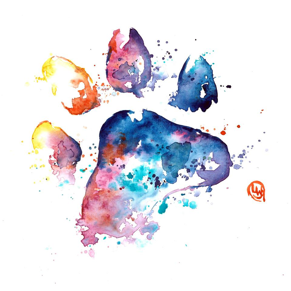 8 - WhiteHouse Art Paw Print