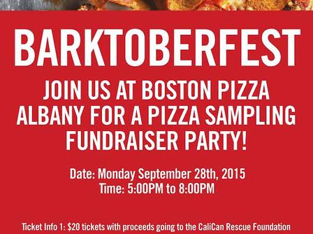 Barktoberfest at Boston Pizza Albany Market Square!