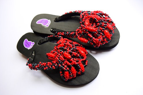 Beads Strap Flip Flop (Hand Crafted)