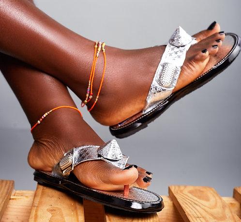 African Anklet (Orange)