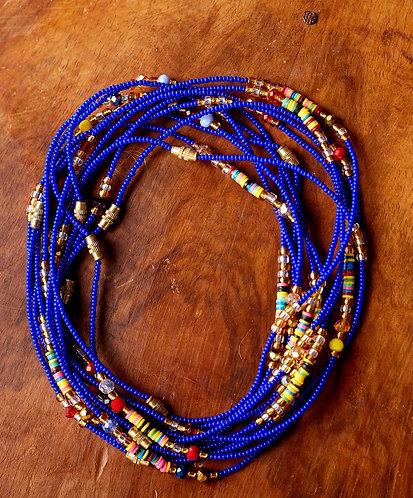 African Anklet (Blue)