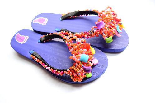 Stylish Beads Strap Flip Flop
