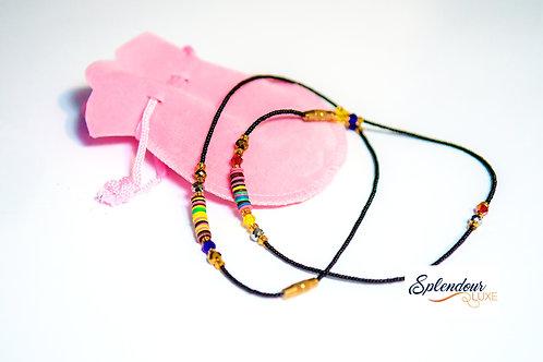 Handmade African Beads Anklet
