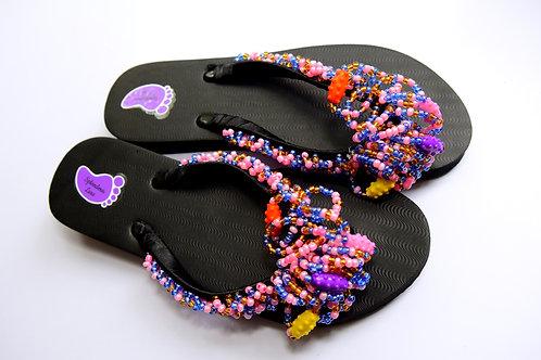 African Beads Flip Flop
