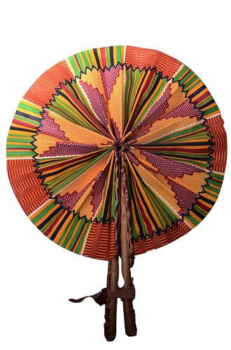Ankara African Print Handheld Foldable Fan