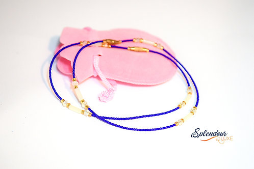 African Handmade Beads Anklet