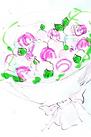 桜の生け込み