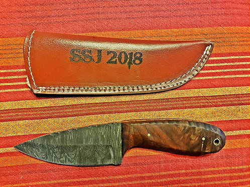 Hunting Knife 2 with customized sheath