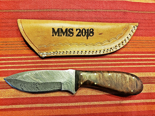 Hunting Knife 3 with customized sheath