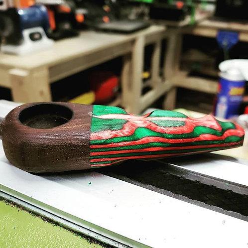 Layered Wood Pipe