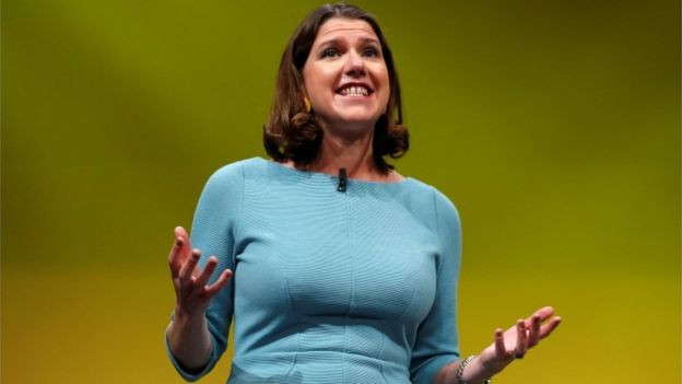 Jo Swinson announces that wellness will be a Lib Dem assessment criteria in the state of the nation, as well as GDP.