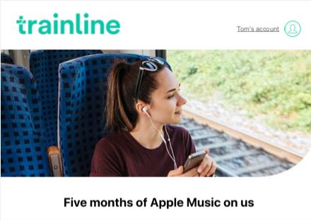 Trainline & iTunes