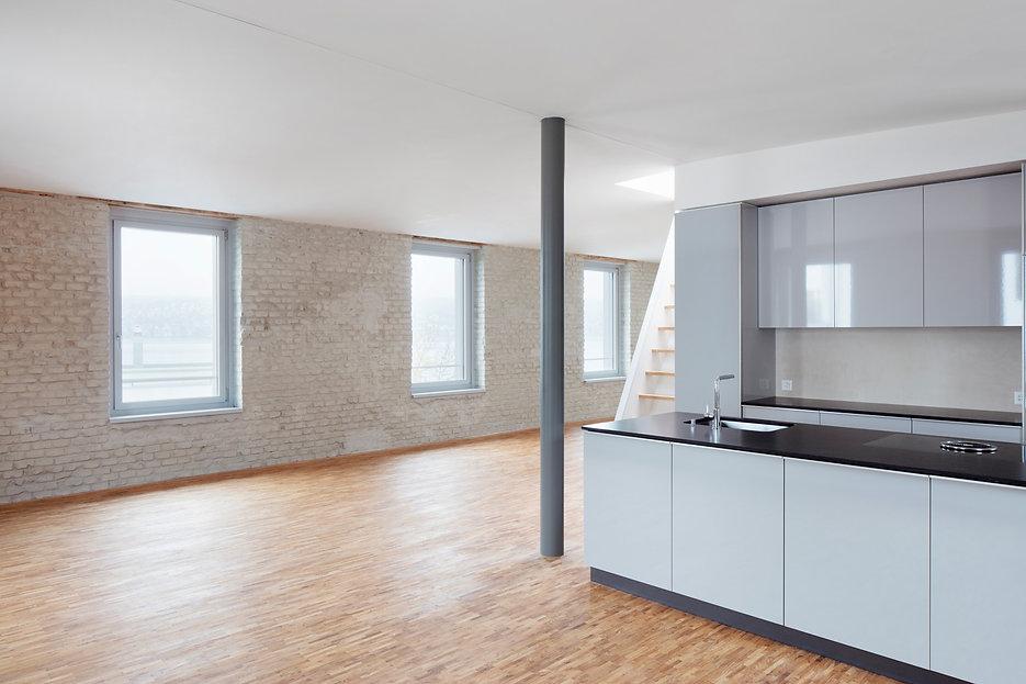architektur sanierung wohnkueche