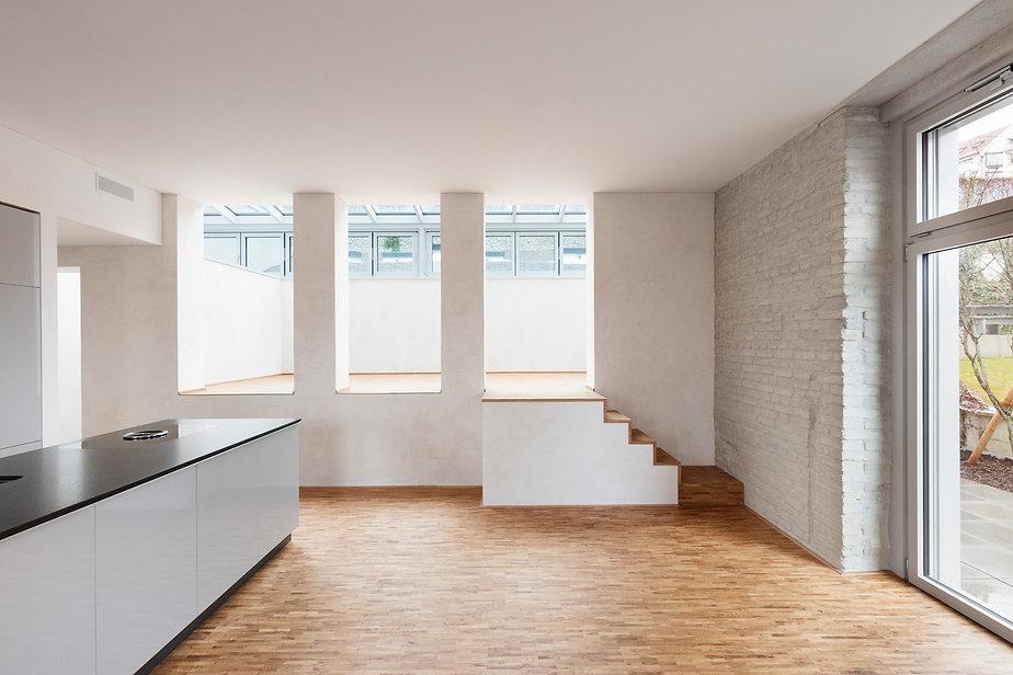 architektur sanierung wohnraum mit wintergarten