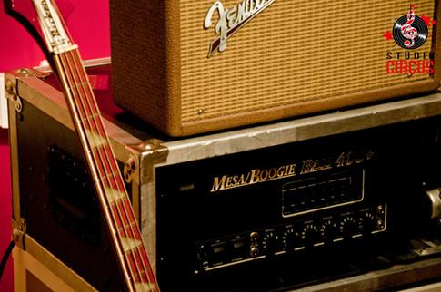 Fender 63 Reverb & Mesa Boogie Bass 400+