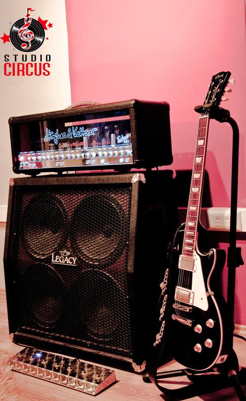 H&K Triamp MKII & Gibson Les Paul
