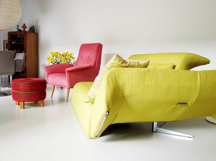 studio db ai interior U living room design
